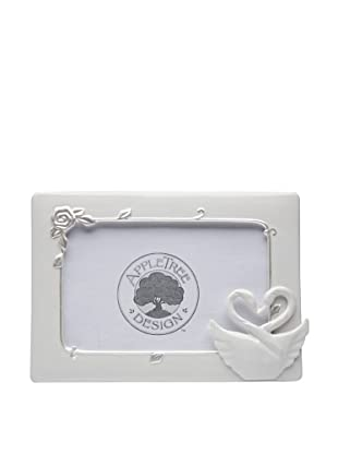 Perfect Wedding Swan Couple Porcelain Frame, 3