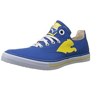Puma Men's Limnos Cat Blue Canvas Sneakers - 8 UK/India (42 EU)