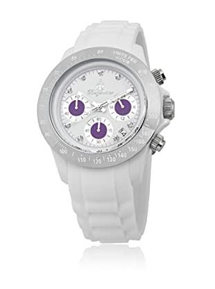 Burgmeister Reloj de cuarzo 514-586B Blanco 40  mm