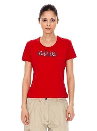 Iguana T-Shirt Avoca (Rot)