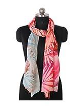 Theamritsarstore Women's Scarf (Multicolour_M)