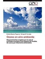 Ozono En Aire Ambiente