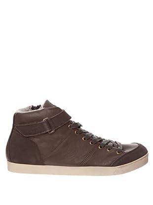 Springfield Bota Velcro (marrón oscuro)
