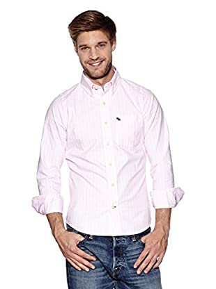 Abercrombie & Fitch Hemd Classic (rosa)