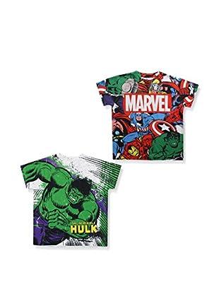 ZZZ-MARVEL 2tlg. Set T-Shirts Pack 10