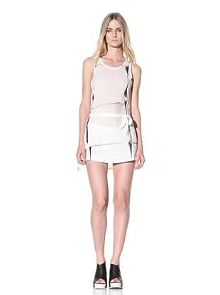 Ann Demeulemeester Women's Dress and Skirt Set (Off-White)