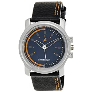 Fastrack Beach Upgrades Analog Blue Dial Men's Watch - NE3039SL07