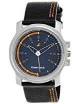 Fastrack Beach Upgrades Analog Blue Dial Men's Watch - NE3039SL07