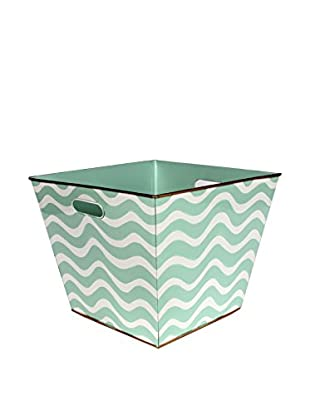 Malabar Bay Breakers Storage Bin, Aqua