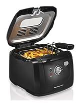 Hamilton Beach 35021 Deep Fryer with Cool Touch, Black