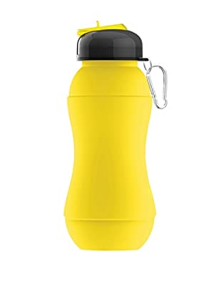 AdNArt Sili-Squeeze Collapsible Silicone Hydra Bottle (Yellow)