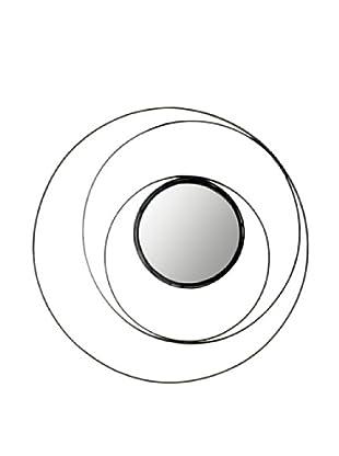 Safavieh 4-Ring Mirror, Black