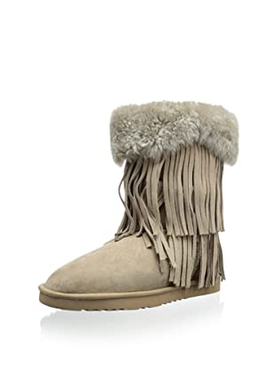 Koolaburra Women's Haley Ii 8 1/2 Inch Shearling Boot (Seta)