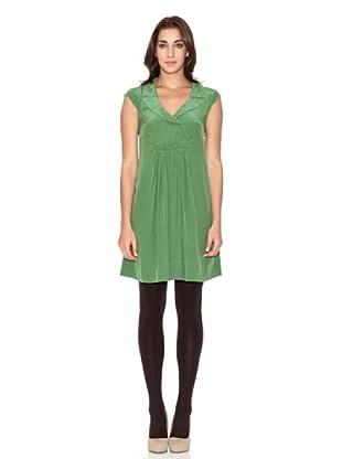 SIYU Vestido Sugar Frunce (Verde)