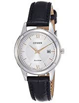 Citizen Analog White Dial Women's Watch - FE1086-12A