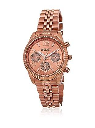 August Steiner Uhr mit schweizer Quarzuhrwerk  rosé 35 mm