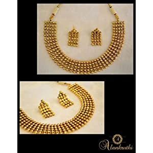 Necklace sets - New Temple Jewellery Necklace Set 11