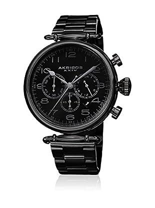 Akribos XXIV Reloj con movimiento cuarzo suizo Man AK764BK 46 mm
