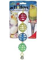 JW Pet Company Activitoy Lattice Chain Small Bird Toy, Colors Vary
