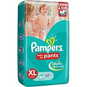 PAMPERS PANTS XL (48 COUNT)