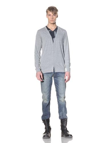 Drifter Men's Scion Knit Cardigan (Grey)
