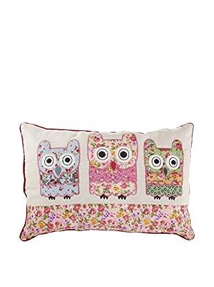 Chateau chic Cojín Owls Crudo