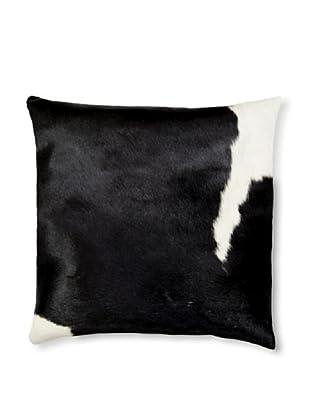 Natural Torino Cowhide Pillow (Black/White)