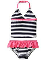 Osh Kosh Baby Girls' Striped Tankini