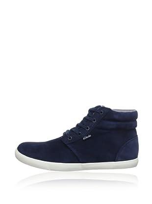 Clarks Sneaker Torbay Mid (Blau)