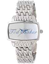 Ted Baker Women's TE4022 Ted-Ted Analog Silver Dial Watch