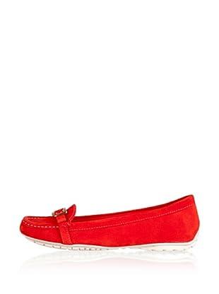 Rockport Mocasines Casual Ettye Name (Rojo)