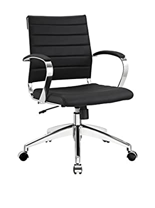 Modway Jive Mid Back Office Chair (Black)
