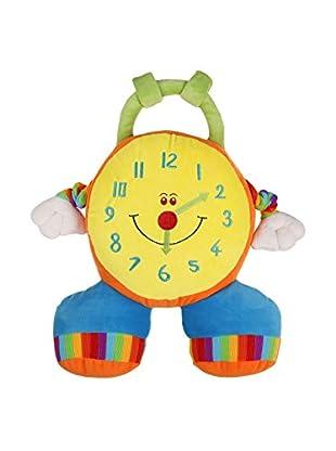Kissen Clock gelb