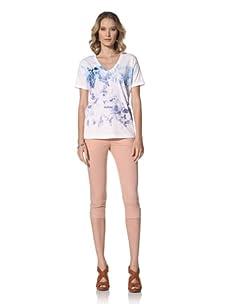 Escada Sport Women's Etelle Short Sleeve Top (White)