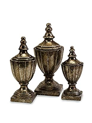 Set of 3 Neville Lidded Vases