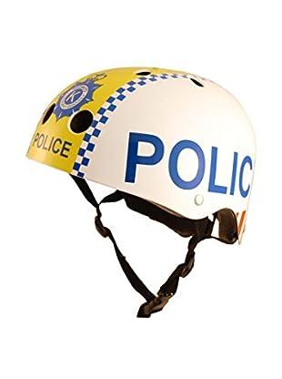 Kiddimoto Fahrradhelm Bobby Police Man