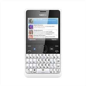 Nokia Asha 210 SmartPhone-White