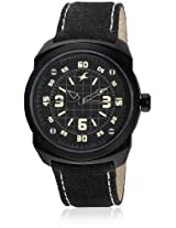 9463Al08-Dc725 Black/Black Analog Watch