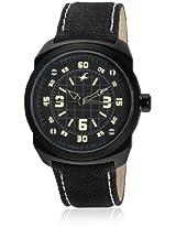 9463Al08-Dc725 Black/Black Analog Watch