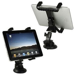 【クリックでお店のこの商品のページへ】i-Beans iPad iPad2 車載用スタンド 8インチ / 9インチ / 10インチ用対応車載用(962-1)