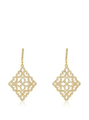 ANDREA BELLINI Ohrringe Arabesque Lumineuse vergoldetes Silber 925