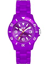 Ice Watch Ice Classic Solid Big Purple Mens Watch Cspebp10