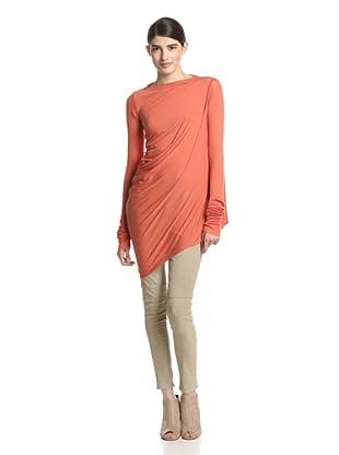 Rick Owens Lilies Women's T-Shirt Long Sleeve (Hibiscus)