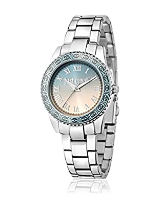 Just Cavalli Quarzuhr Woman Just Sunset silberfarben 42.4x36 mm