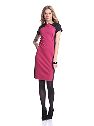 Ivanka Trump Women's New Sharon Sheath (Sangria/Black)