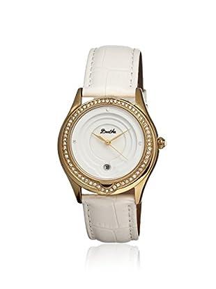 Bertha Women's BR4103 Patricia White Leather Watch