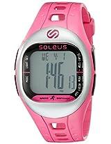 Soleus Soleus Unisex Sf001-611 Tempo Digital Display Quartz Pink Watch - Sf001-611
