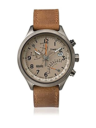 TIMEX Reloj de cuarzo Man Intelligent Fly-back Chronograph Marrón 43 mm