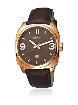 Esprit Reloj de cuarzo Man Conduit Rosegold Brown 42 mm