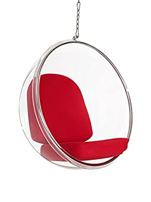 Modway Ring Lounge Chair (Red)